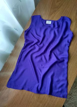 Шелковая блуза пеньюар ,100%шелк