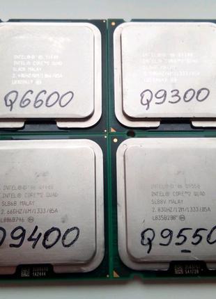 Процессор 775 Intel Core 2 Quad Q6600 Q9300 Q9400 Q9550