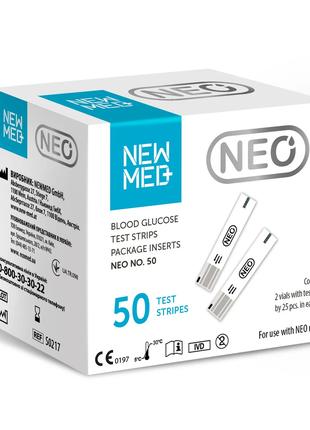 Тест-полоски Neo №50 (NewMed)