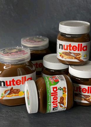Шоколадная паста Nutella 825 гр