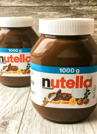 Шоколадная паста Nutella нутела 1 кг Германия