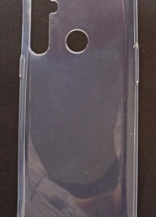 Силиконовый чехол на Realme 5 прозрачный