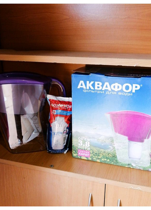 Аквафор Карат фильтр-кувшин + картридж Аквафор В5