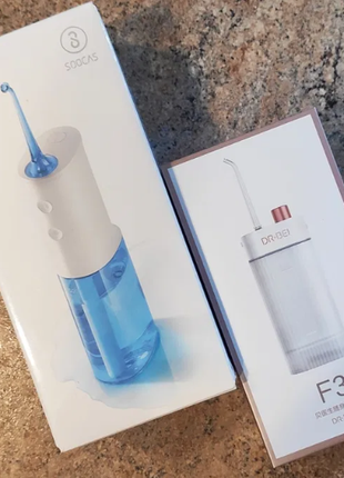 Xiaomi DR.BEI F3 и Xiaomi SOOCAS W3 Oral Irrigator