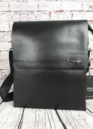 Большая сумка Polo под формат А4 Размер 33 на 26 КС70-1