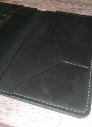 Кожаный портмоне ручной работы