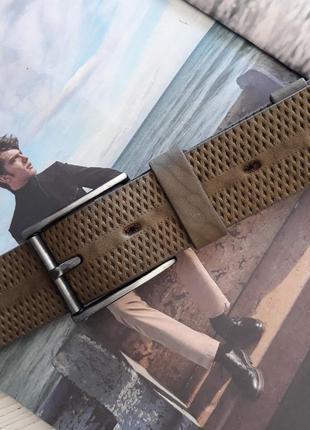 Ремень мужской кожаный