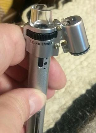 Микроскоп карманный x100 кратный