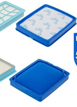 Набор фильтров для пылесоса Philips FC6042 9728 9733 9735 9734 фи