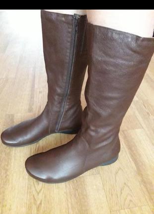 Кожаные сапоги mephisto   41 размер