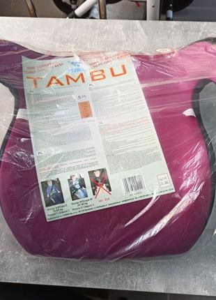 Автокрісло бустер TAMBU (15-36кг)