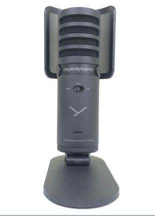 студийный микрофон Beyerdynamic Fox ( rode nt usb,razer,hyperx )