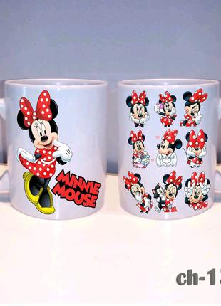 Чашка для девочки мини маус