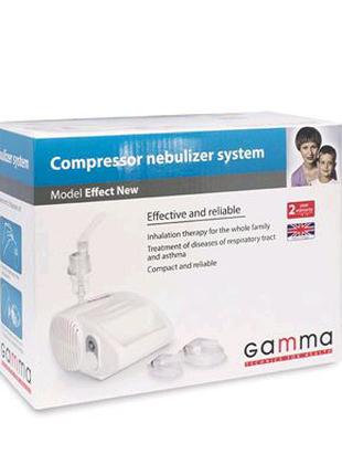 Компрессорный ингалятор Gamma Effect NEW