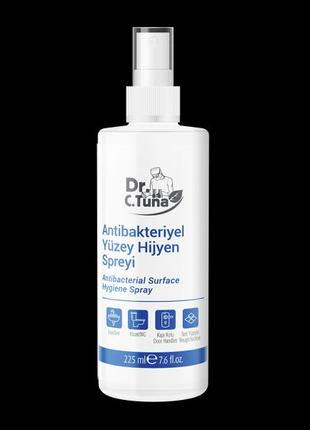 Антибактеріальний гігієнічний спрей для поверхонь Dr. С. Tuna