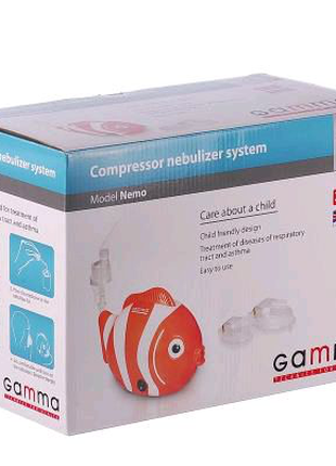 Ингалятор  небулайзер Gamma Nemo