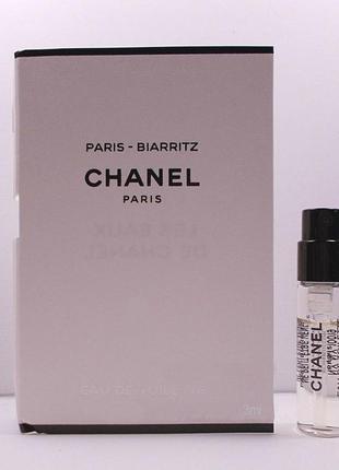 Chanel Paris Biarritz_original mini 3 мл_миниатюра пробник_затест