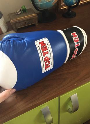 Спарринговые перчатки TOP TEN WAKO, размер10 OZ