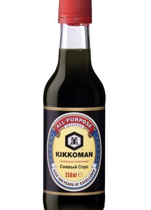 Соус соевый Киккоман Kikkoman Soy Sauce 250 мл.