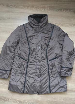 Деми куртка большого размера