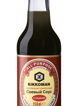 Cоевый соус Киккоман сладкий Kikkoman Soy Sauce Sweet 250 мл.