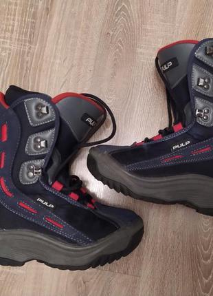 Сноубордические ботинки боты для сноуборда pulp