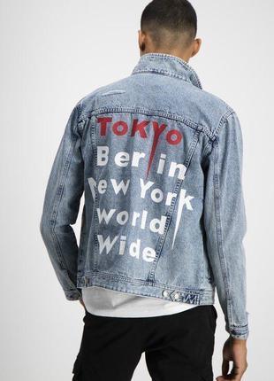 Мужская джинсовая куртка new yorker