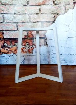 Опора для круглого стола в скандинавском стиле