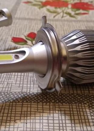 Яркие автомобильные светодиодные лампы для фар 8000K Свет: Ice...