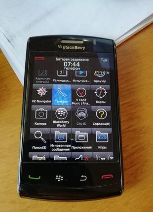BlackBerry 9550 из Мексики..