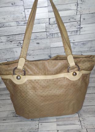 Женская кожаная сумка  arcadia. оригинал италия.