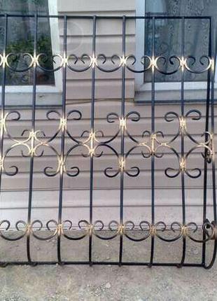Металлоконструкции, решетки на окна, перила