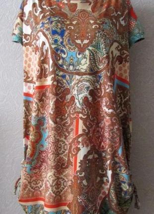 Платье туника рафаэлла, турецкий тр-ж, большой размер!