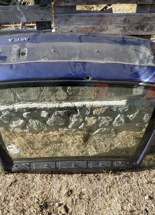 Кришка багажника опель астра ф