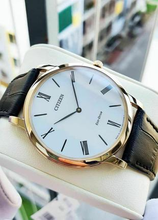 Мужские часы Citizen Stilleto Eco-Drive Ultra Thin AR1113-12B