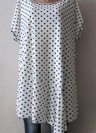 Платье туника эйлин, большой размер!