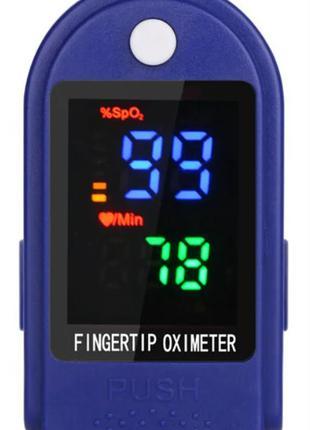 Пульсометр оксиметр на палец (пульсоксиметр) LYG-88
