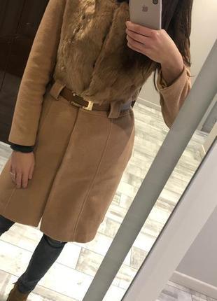 Пальто демисезонное  кашемир 100%
