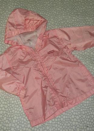 Куртка ветровка 1-2 года