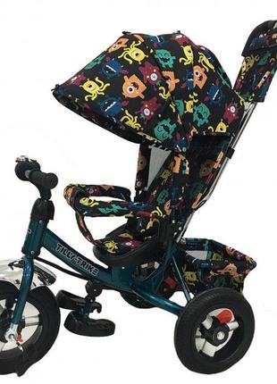 Велосипед трехколесный, зх колесний, ровер Tilly Trike Grey (T...