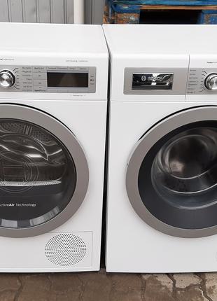 Комплект стиральная и сушильная машина Бош Bosch WAY2854D, WTY887