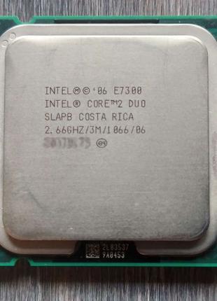 Шустрый высокопроизводительный процессор Intel Core 2 Duo E7300