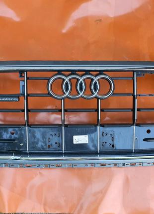 Решетка радиатора и бампера Audi Q8 4M8853651AGRN4 4M8807647A
