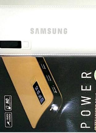 PowerBank SAMSUNG 40000mAh МОЩНЫЙ +LED фонарик, 3 USB, повербанк