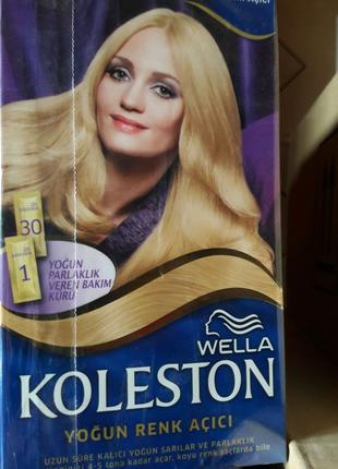 Профессиональная краска для волос  wella koleston