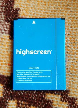 Акумулятор highscreen