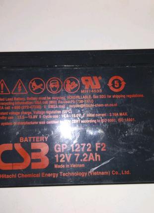 Аккумуляторная батарея для ИБП, 12v 7ah