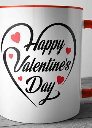 Керамическая кружка ко дню святого валентина, на день влюбленн...