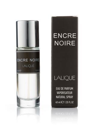 Мужской мини парфюм Lalique Encre Noire - 40 мл (320)