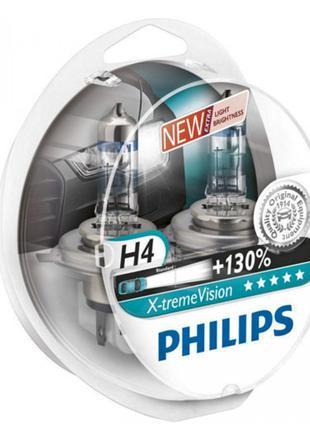 Лампа галогенная 12V H4 60/55W P43T-38 PS 12342 XV+S2